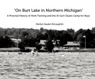 """""""On Burt Lake in Northern Michigan"""" book cover"""