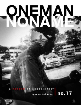 oneman noname - a record of experience 17 book cover