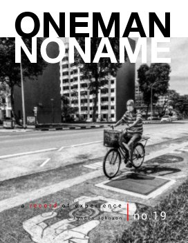 oneman noname - a record of experience 19 book cover