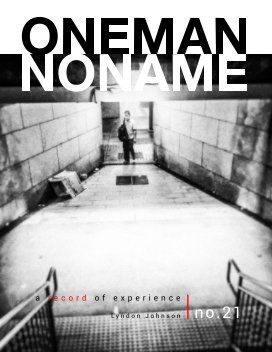 oneman noname - a record of experience 21 book cover