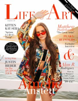 Life Is Art Magazine book cover