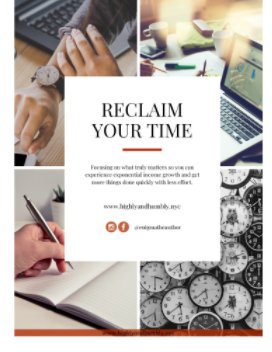 Reclaim Your Time: book cover