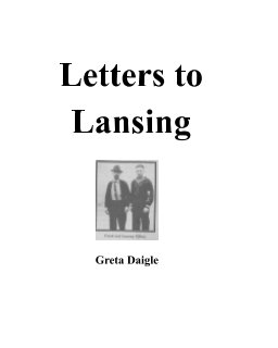 Letters to Lansing book cover
