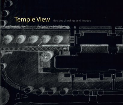 Temple View designs drawings and images book cover