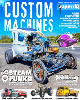 SuperFly Autos Custom Machines Volume One book cover