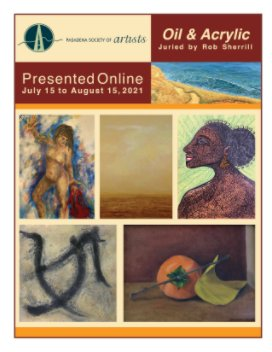 Oil  and Acrylic Exhibition by Pasadena Society of Artists book cover
