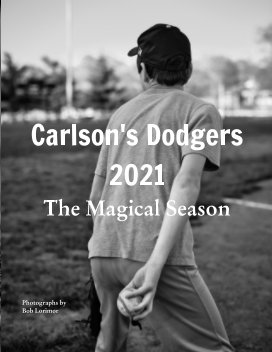 Carlson's Dodgers 2021 book cover