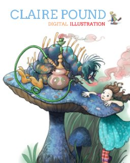 CLAIRE POUND Digital Illustration book cover