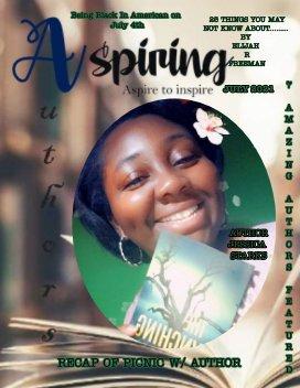 July Edition of AspiringAuthorsMagazine book cover