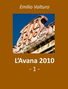 L'Avana 2010 - 1 book cover