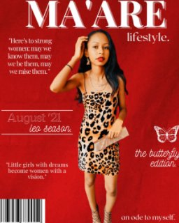 Ma'are lifestyle book cover