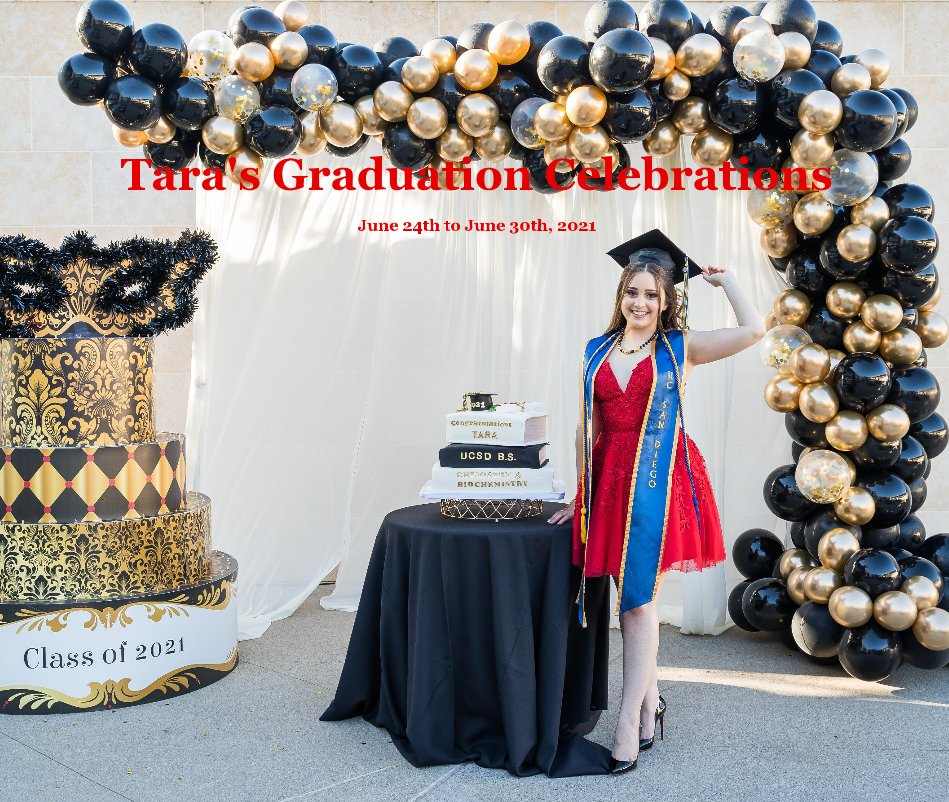 View Tara's Graduation Celebrations by June 24th to June 30th, 2021