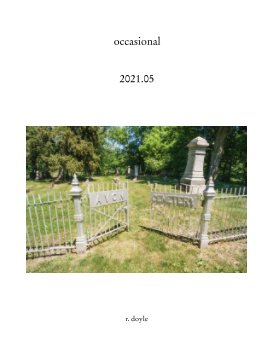 2021.05 occasional book cover