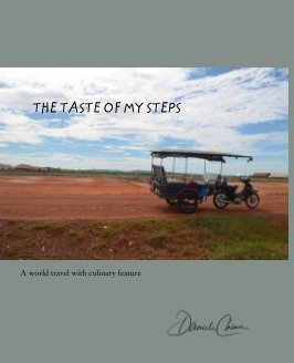 The taste of my steps book cover