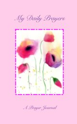 """My Daily Prayers - style: """"Faded Poppies"""" book cover"""