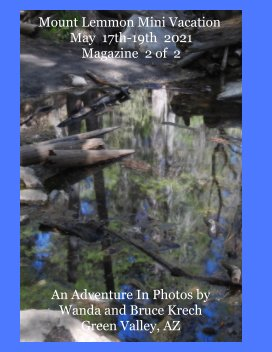 Mount Lemmon Mini Vacation May 17th-19th 2021 book cover