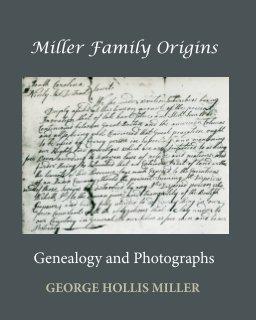 Miller Family Origins 2 book cover