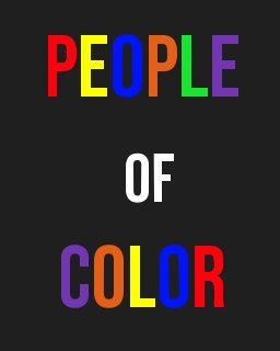 People of Color book cover