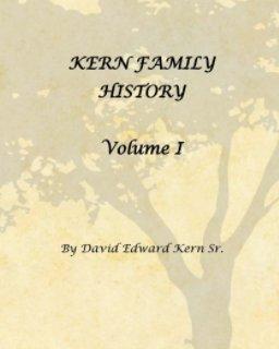 Kern Family History Volume I book cover