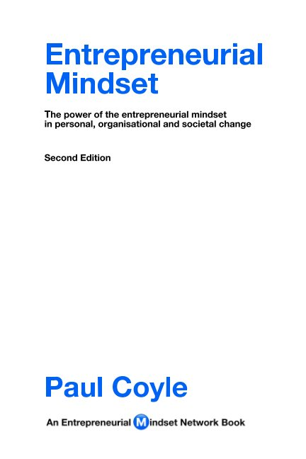 View Entrepreneurial Mindset by Paul Coyle