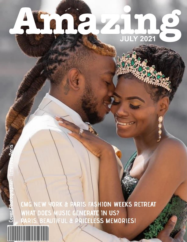 View AMAZING (July 2021) by CMG Press