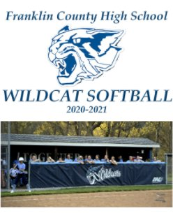 Franklin County Wildcat Softball 2020-2021 book cover