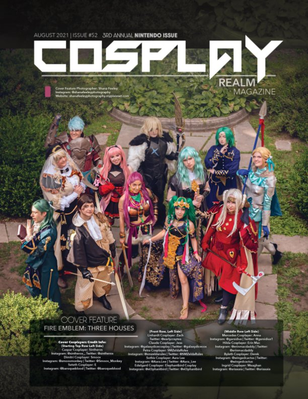View Cosplay Realm Magazine No. 52 by Emily Rey, Aesthel