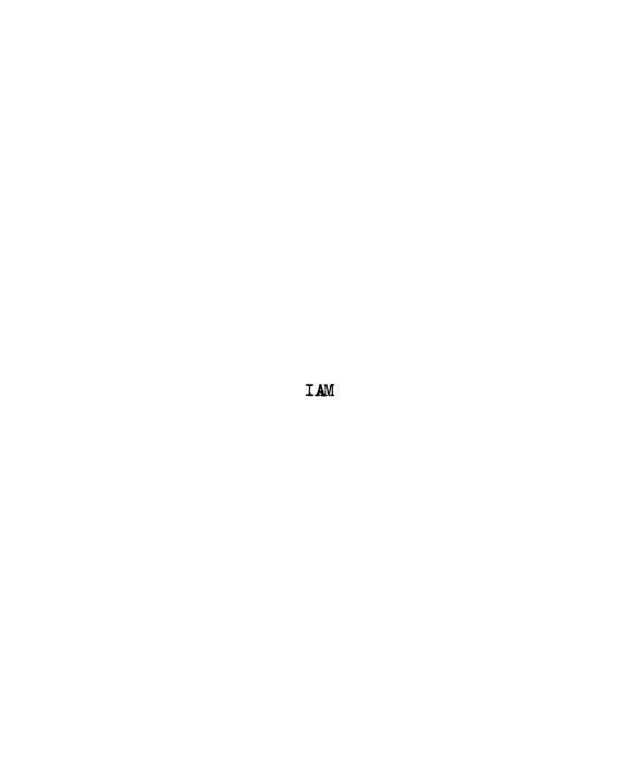 Ver I Am (Abbreviated) por ERIC ELMORE