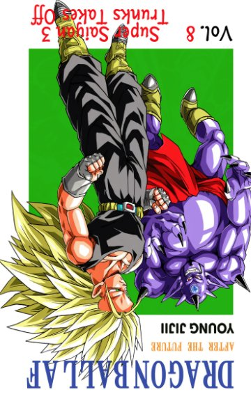 View Dragon Ball AF Volume 8 by Young Jijii
