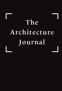 The Architecture Journal book cover
