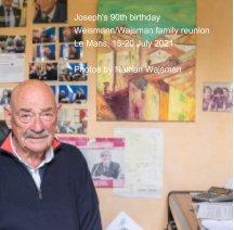 Joseph's 90th birthday book cover