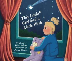This little girl had a little wish book cover
