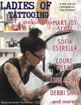 Ladies of Tattooing Worldwide 3 book cover