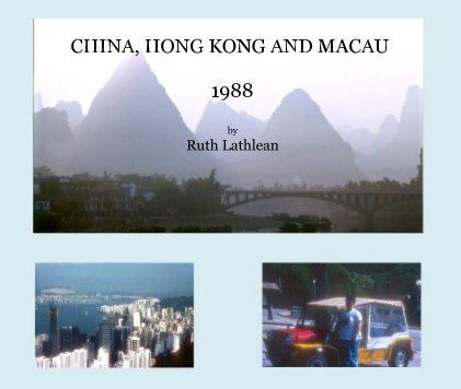 China, Hong Kong and Macau 1988 book cover