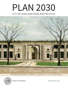 Highland Park Master Plan 2030 book cover