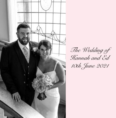The Wedding of Hannah and Ed book cover
