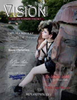 Meraki Vision Magazine July 2021 Warriors book cover