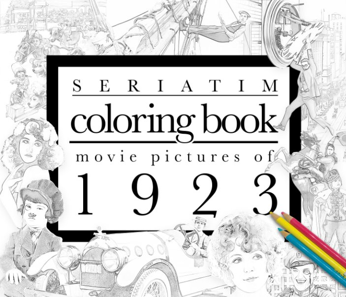 View Seriatim coloring book by Maxime Lefrancois
