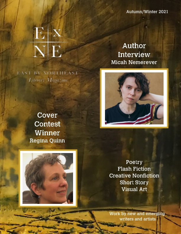 View East by Northeast Literary Magazine by Edited by JD McFarren