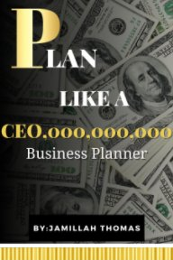 Plan like a CEO, Custom Business Planner book cover