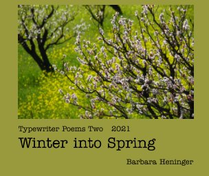 Typewriter Poems 2: Winter to Spring book cover