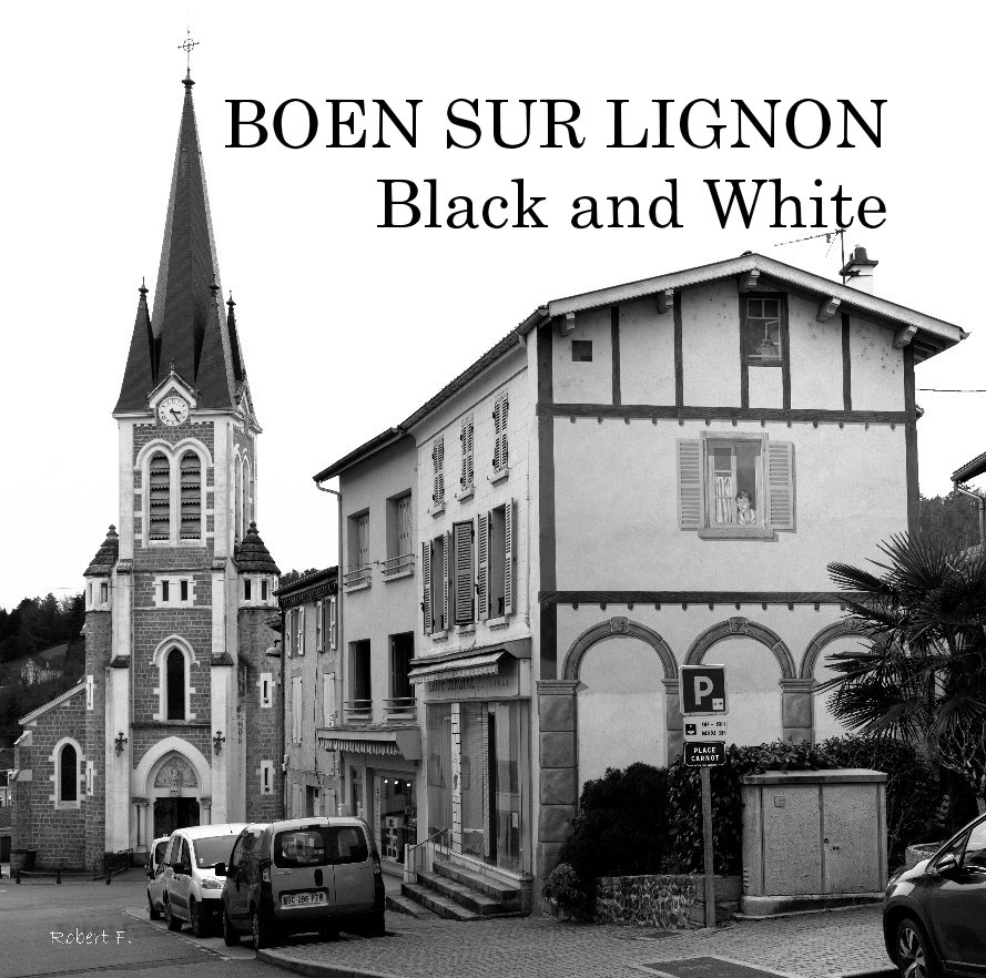 View BOEN SUR LIGNON Black and White by Robert F. Photographie