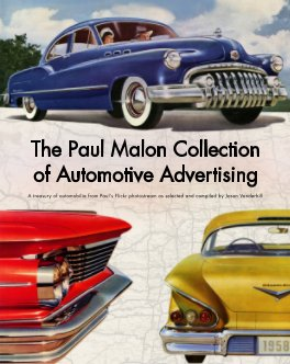 The Paul Malon Collection of Automotive Advertising book cover