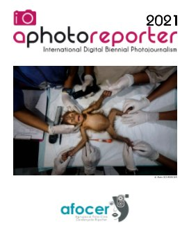 Aphotoreporter 2021 book cover