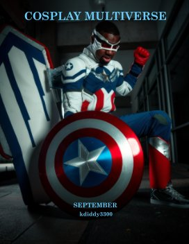 Cosplay Mulitiverse September book cover