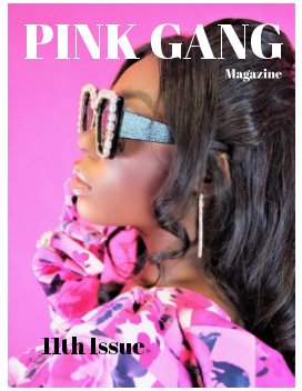 PINK GANG Magazine book cover