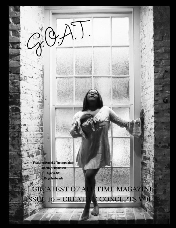 View GOAT Issue 10 Creative Concepts by Valerie Morrison
