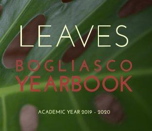Bogliasco Yearbook 2019/2020 book cover