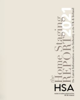 The Home Staging Report 2021 book cover
