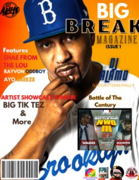 BigBreakMagazine book cover